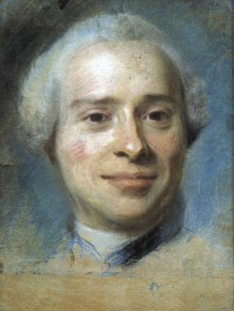 Jean Le Rond D'Alembert by Maurice Quentin de La Tour