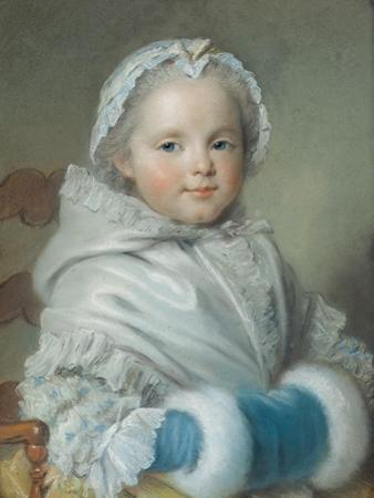 Nicole Ricard by Maurice Quentin de La Tour