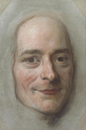 Portrait of Voltaire, c.1750 by Maurice Quentin de la Tour