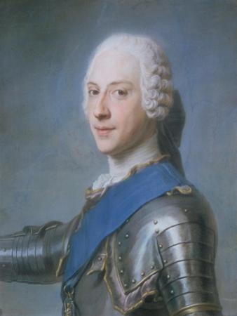 Prince Charles Edward Stewart, 1720-88 by Maurice Quentin de La Tour