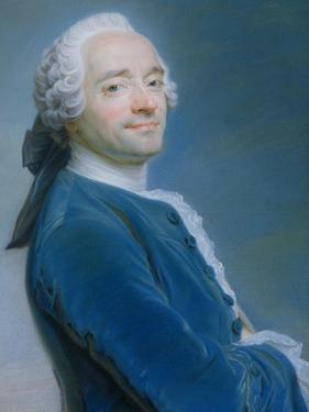 Self Portrait by Maurice Quentin de La Tour