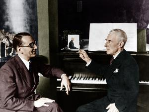 Maurice Ravel and Jacques Fevrier