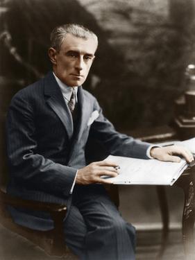 Maurice Ravel, C 1930