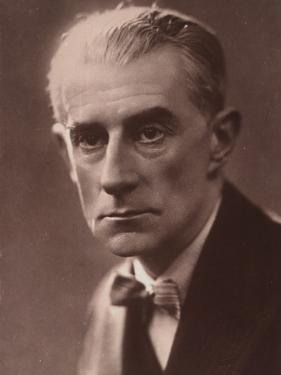 Maurice Ravel, C 1935
