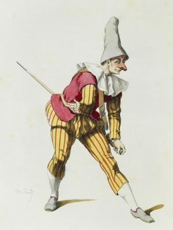 Giangurgolo in 1625