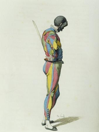 Harlequin in 1858