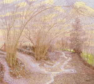 Ridge Path - High Weald, 2001 by Maurice Sheppard