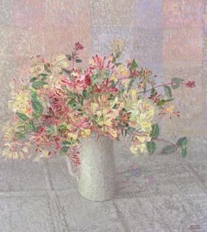 Still Life with Honeysuckle by Maurice Sheppard