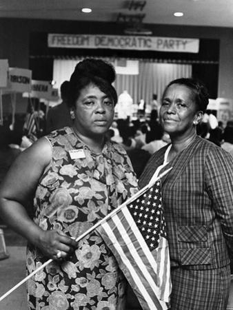 Fannie Lou Hammer and Ella Baker by Maurice Sorrell