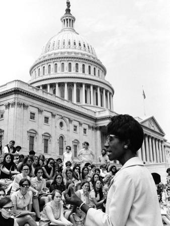Shirley Chisholm - 1970 by Maurice Sorrell