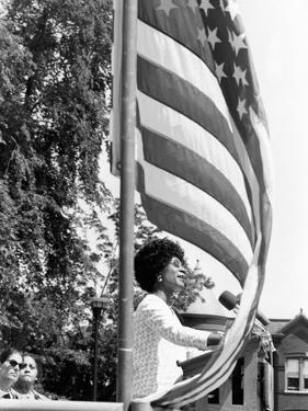 Shirley Chisholm - 1971 by Maurice Sorrell