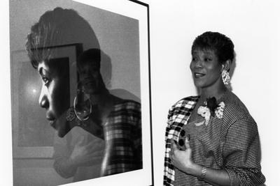 Wilma Rudolph, 1989 by Maurice Sorrell
