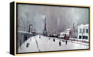 Utrillo: Eiffel Tower by Maurice Utrillo