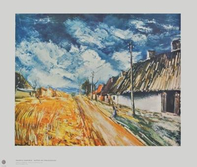 Cottages at the Roadside by Maurice Vlaminck
