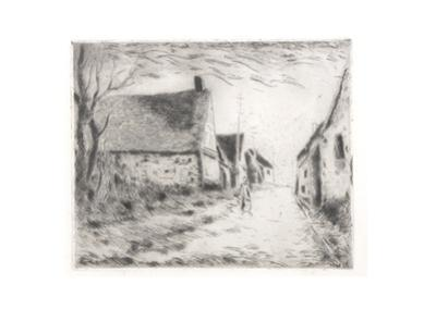 View of the Village by Maurice Vlaminck