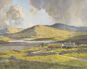 Sunshine and Shadow, Anure, County Donegal by Maurice Wilks