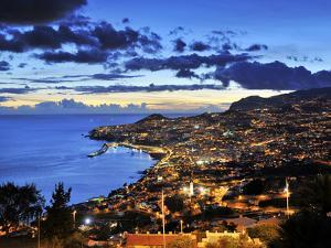 Funchal at Sunset, Madeira, Portugal by Mauricio Abreu