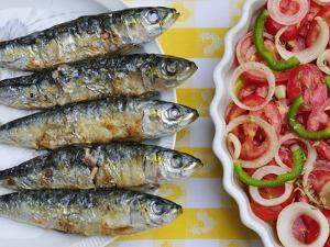 Grilled Sardines, a Delicacy. Setubal, Portugal by Mauricio Abreu