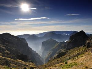 Misty Mountains of Madeira, Portugal by Mauricio Abreu