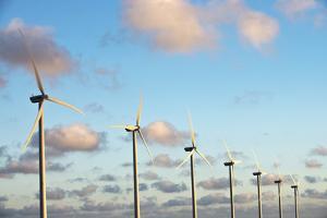 A 150 Feet Tall Wind Turbines Just Outside Arikok National Park by Mauricio Handler