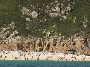 A Cornish Beach on a Rare Sunny Day by Mauricio Handler