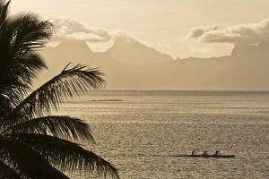 The Island of Mo'Orea as Seen from Tahiti by Mauricio Handler