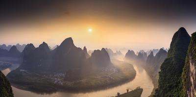 China, Guangxi province, Xingping village along River Li by Maurizio Rellini
