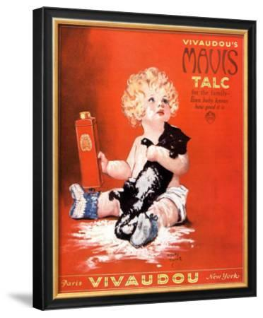 Mavis Talc Cats Talcum Powder, USA, 1920
