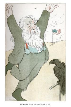 Walt Whitman, Inciting the Bird of Freedom to Soar, 1904