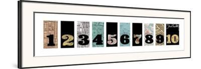 Number Map I by Max Carter