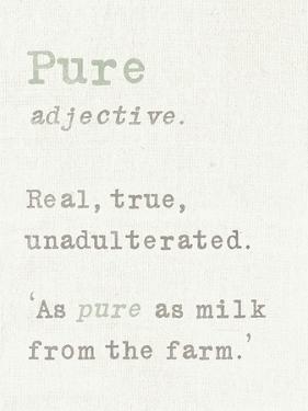 Pure by Max Carter