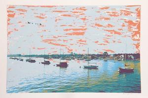 Anchored Flotilla Days Gone By by Max Epstein