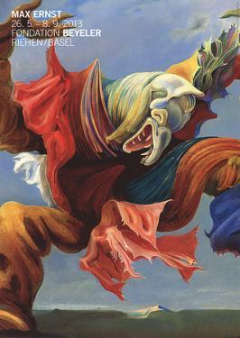 L'Ange du Foyer (Le Triomphe du Surrealisme) by Max Ernst