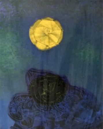 Ursachen Der Sonne, 1960 by Max Ernst