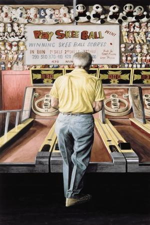 Skee Ball, My Father (Coney Island) 1990