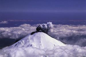 Mount St. Helens Erupting by Max Guttierrez