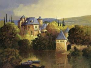 Boathouse on the Dordogne by Max Hayslette