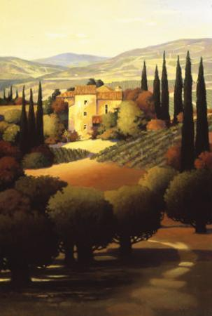 Green Hills of Tuscany II by Max Hayslette