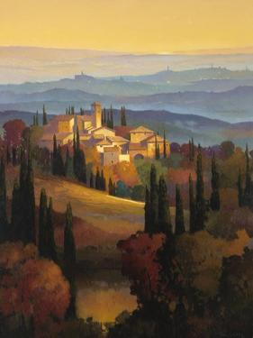 Hills of Chianti by Max Hayslette