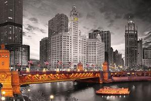 Chicago River by Max Kendricks