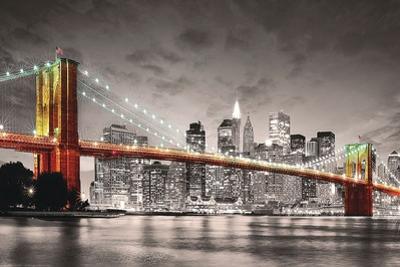 New York Brooklyn Bridge by Max Kendricks
