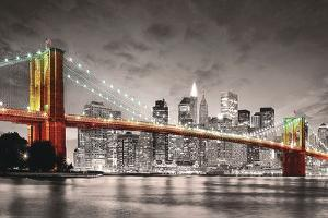 New York Brooklyn Bridge by Max Kendricks