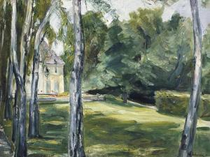 A House in Garden by Max Liebermann