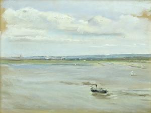 After the Rain, 1902 (Pastel on Paper) by Max Liebermann