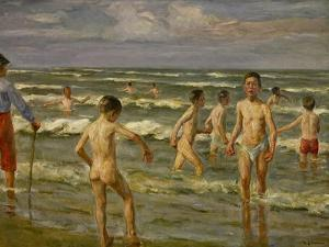 Bathing Boys, 1900 by Max Liebermann