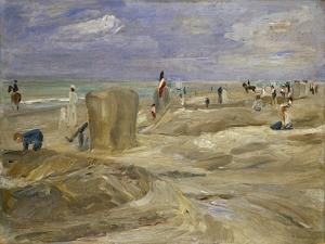 Beach at Noordwijk by Max Liebermann