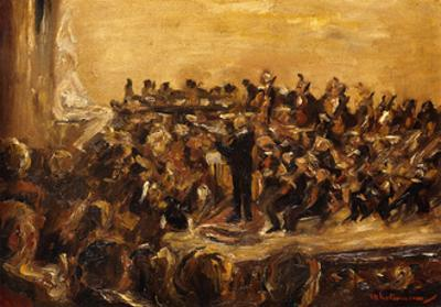 Concert in the Staatsoper by Max Liebermann