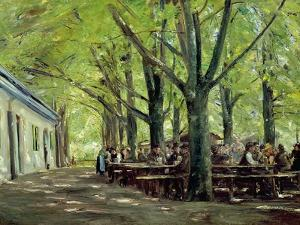 Country Brasserie, Brannenburg, Bavaria, c.1894 by Max Liebermann