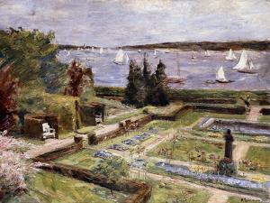 Garden of the Arnhold Family by the Wansee River; Wannseegarten Der Familie Arnhold, 1911 by Max Liebermann