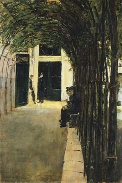 House of Old Amsterdam, 1880 by Max Liebermann